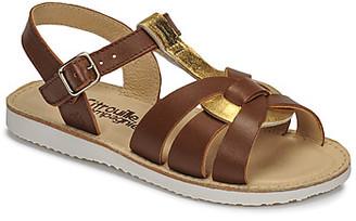 Citrouille et Compagnie MINOTTE girls's Sandals in Brown