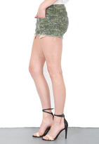 Rag and Bone The Mila Short in Camo