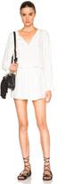 Frame Lace Trim Dress