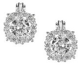 Anne Klein Cubic Zirconia Clip-On Stud Earrings