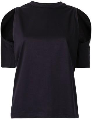 Dion Lee contour cut-out T-shirt