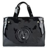 Armani Jeans High Shine Shopper Bag
