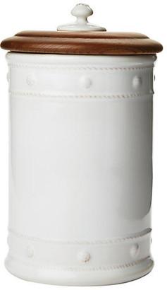 """Juliska Berry & Thread Canister - White 10"""""""
