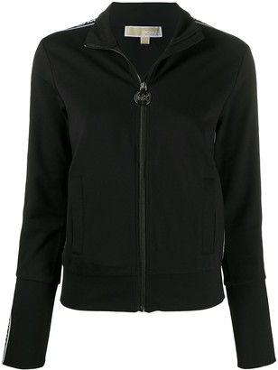 MICHAEL Michael Kors Logo Zipped Jacket