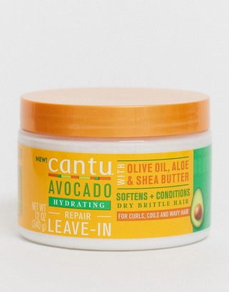 Cantu Avocado Leave In Conditioner Cream 12Oz / 340g