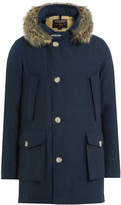 Woolrich Down Parka with Fur-Trimmed Hood