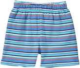 Zutano Multi Stripe Shorts (Baby) - Periwinkle-18 Months