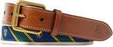 Ralph Lauren Tie-overlay Webbed Belt