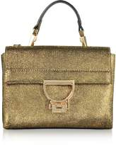 Coccinelle Arlettis Metallic Suede Mini Shoulder Bag