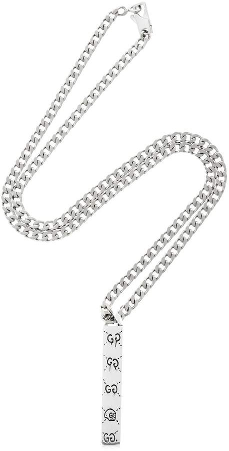 Gucci Guccighost Chain Necklace