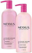 Nexxus Color Assure Shampoo and Conditioner, with Pump 33.8 oz, 2 ct