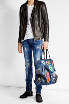 DSQUARED2 Denim Bag with Patches