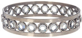 Sorrelli Swarovski Crystal Accented Lined Bangle