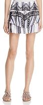 Red Carter Vega Printed Mini Skirt