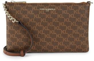 Karl Lagerfeld Paris Faux Leather Crossbody Bag
