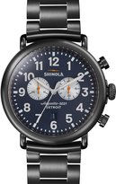Shinola 47mm Runwell Chronograph Watch, Navy