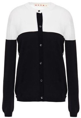 Marni Two-tone Wool Cardigan