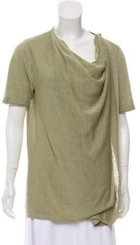 148 Linen Short Sleeve Top
