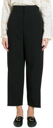 Chloé Cropped Wide Leg Trousers