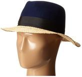 Kate Spade Felt and Raffia Fedora Fedora Hats
