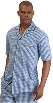 Nautica Men's Woven Plaid Pajama Shirt