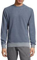 Michael Bastian Long-Sleeve Stripe Fleece Sweater