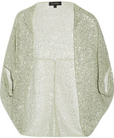 Jenny Packham Embellished Tulle Jacket - Mint