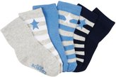 Robeez 6 Pack Rugby Star Socks (Baby) - Blue-0-6 Months