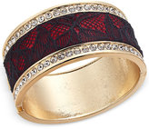 Thalia Sodi Crystal Hinged Bangle Bracelet, Only at Macy's