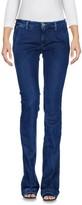 Care Label Denim pants - Item 42616392