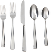 Cambridge Silversmiths Cali Mirror 30-Piece Flatware Set