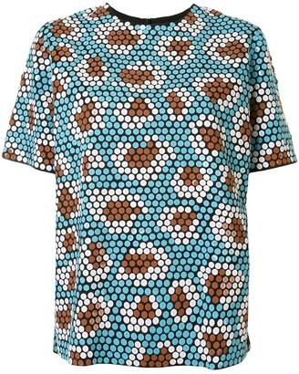 Christian Wijnants Tamu sequinned blouse