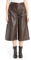 Chloé Seam Detail Leather Culottes