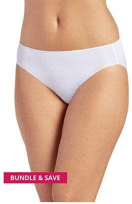 Jockey No Panty Line Promise(r) Tactel(r) Bikini (Deep Beige) Women's Underwear