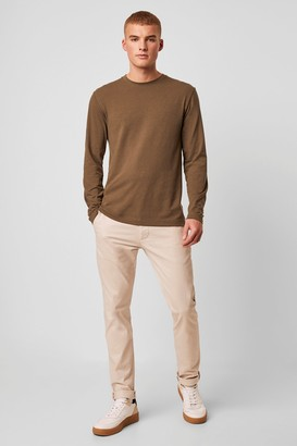 French Connenction Washed Cotton Slim Chinos