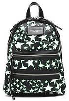 CONTEMPORARY Flocked Stars Printed Biker Mini Backpack