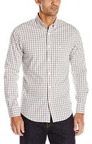 Dockers Long Sleeve Grid Comfort Stretch Woven Shirt
