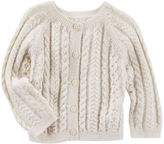 Osh Kosh Sparkle Cable-Knit Cardi