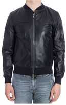 Orciani Bomber In Pelle