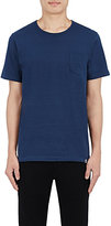 Solid & Striped MEN'S PATCH-POCKET T-SHIRT-NAVY SIZE S