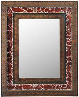"Mikasa Bombay Mosaic Metal Wall Mirror, 26"" x 32"