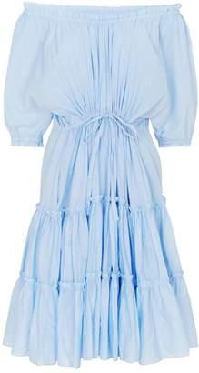 Loup Charmant Cotton Kasos Tiered Dress
