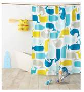 Pillowfort Whale Shower Curtain Amparo Blue