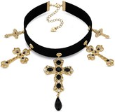 Lipsy Statement Cross Choker