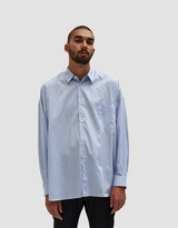 Comme des Garcons Yarn Dyed Cotton Stripe Shirt