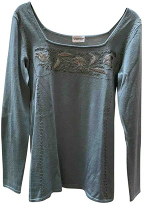 Philosophy di Alberta Ferretti Green Wool Knitwear for Women