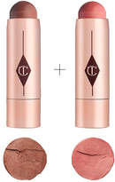 Charlotte Tilbury Beach Stick Bronze + Blush Kit Ibiza + Moon Beach