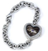 Game Time NFL Women's FH-BAL Heart Collection Baltimore Ravens Watch