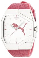 Puma Women's PU910572007 Track Pink and White Dial Watch