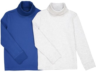 La Redoute Collections Pack of 2 Roll Neck Shirts, 3-12 Years